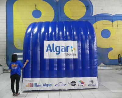 Túnel Inflável Algar Cine Universo