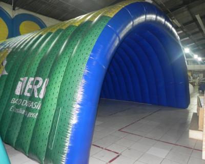 Túnel Inflável Brasilia Capital de todas as Torcidas