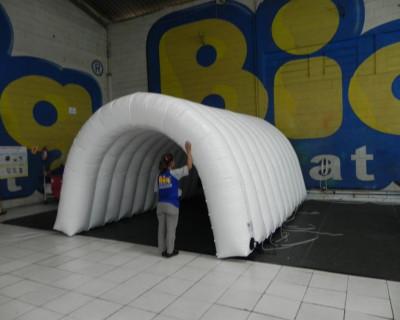 Túnel Inflável Confederação Brasileira de Voleibol