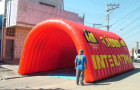 Túnel Inflável Rádio Interativa - Foto 1