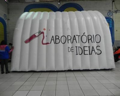 Túnel Inflável Laboratório de Ideias