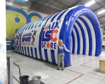 Túnel Inflável Luanda Sport