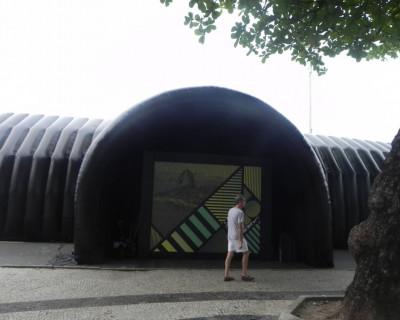 Túnel Inflável Rio