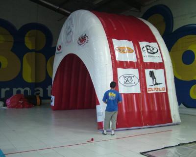 Túnel Inflável Circuito de Trekking