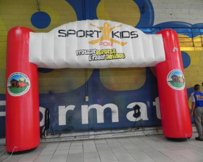 Portal / Pórtico Inflável Master - Sport for Kids