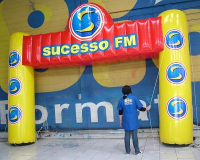 Portal / Pórtico Inflável Master - Sucesso FM