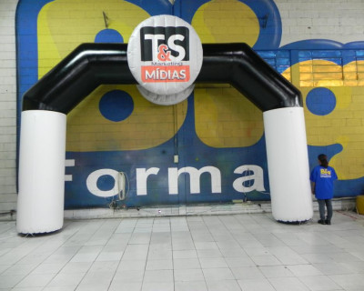 Portal / Pórtico Inflável Classic Plus - T&S Mídias