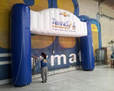 Portal / Pórtico Inflável Portal Master - Terrasal