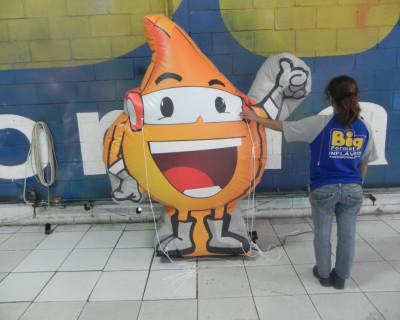 Mascote Inflavel 2D Bragalino