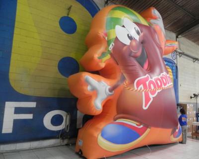 Mascote Inflável 2D Toddynho
