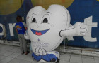 Mascote Inflável 2D Odontologia - Foto 1