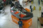 Mascote Inflável 3D Tênis Tryon Laranja - Foto 2