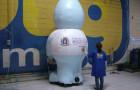 Mascote Inflável 3D Prefeitura de Pouso Alegre - Foto 1