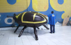 Mascote Inflável 3D Tamanduá de Soja - Foto 2