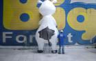 Mascote Inflável 3D Vaquinha Coopatos - Foto 1