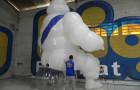 Mascote Inflável 3D Michelin - Foto 1