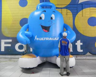 Mascote Inflável 3D