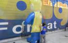 Mascote Inflável 3D Super Prix - Foto 2