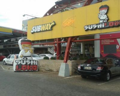 Inflável Promocional Sushi Loko