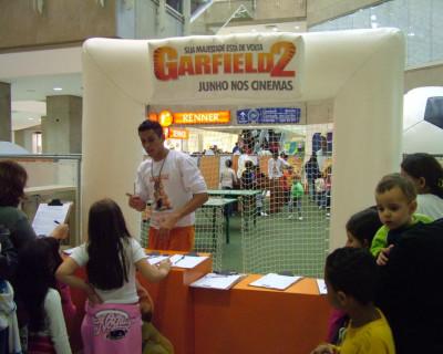Inflável Promocional Garfield
