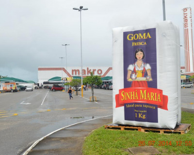 Inflável Promocional Sinhá Maria - Réplica