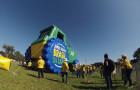 Inflável Promocional Desatola Brasil - Réplica Trator - Foto 3