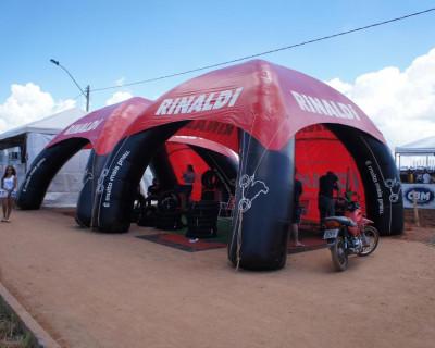 Inflável Promocional Rinaldi - Tenda Inflável