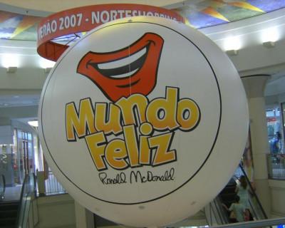 Inflável Promocional  McDonald's