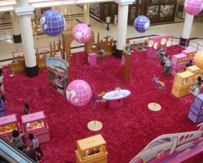 Inflável Promocional Barbie