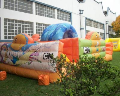 Inflável Promocional Cartoon Network Hora de Aventura