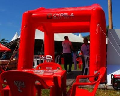 Tenda Inflável Cyrela