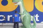 Dinossauro Tridimensional - 3,00m  - Foto 1