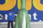 Dinossauro Tridimensional - 3,00m  - Foto 2