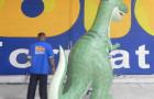 Dinossauro Tridimensional - 3,00m  - Foto 4