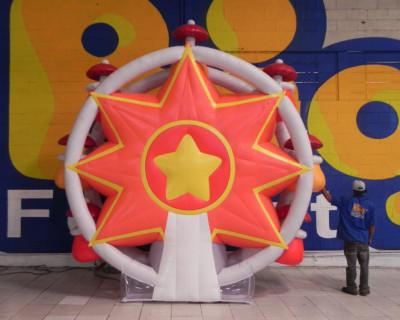 Roda Gigante Inflável Tridimensional - 4,00m