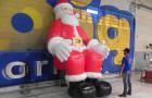Papai Noel Inflável Sentado - Foto 2