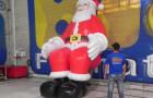 Papai Noel Inflável Sentado - Foto 3