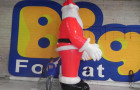 Papai Noel Inflável em pé - Foto 2