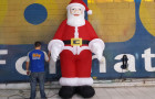 Papai Noel Inflável em pé - Foto 4