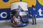 Inflável Promocional  Tintas Lux - Réplica - Foto 1