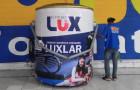 Inflável Promocional  Tintas Lux - Réplica - Foto 3