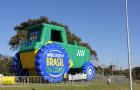 Inflável Promocional Desatola Brasil - Réplica Trator - Foto 4