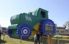 Inflável Promocional Desatola Brasil - Réplica Trator - Foto 5