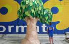 Árvores - Cenário Inflável - 2,00 - 2,50 e  3,50m - Foto 1