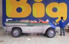 Calhambeque Fusca - Réplica Inflável de Carro 3D - 1,52x4,81x1,84m - Foto 1