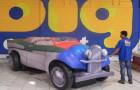 Calhambeque Fusca - Réplica Inflável de Carro 3D - 1,52x4,81x1,84m - Foto 2