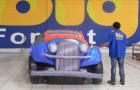 Calhambeque Fusca - Réplica Inflável de Carro 3D - 1,52x4,81x1,84m - Foto 3