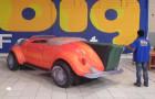 Calhambeque Fusca - Réplica Inflável de Carro 3D - 1,52x4,81x1,84m - Foto 4