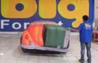 Calhambeque Fusca - Réplica Inflável de Carro 3D - 1,52x4,81x1,84m - Foto 5
