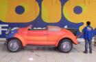 Calhambeque Fusca - Réplica Inflável de Carro 3D - 1,52x4,81x1,84m - Foto 6